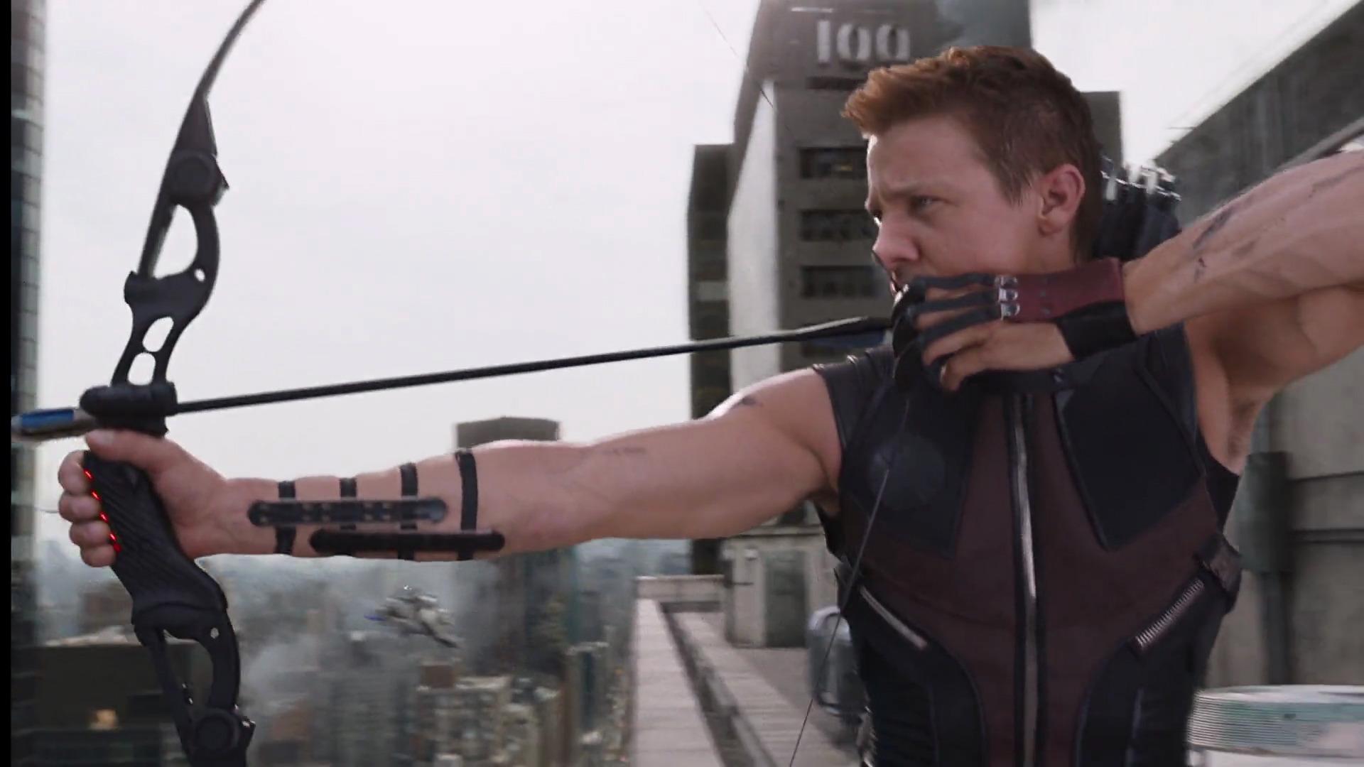 The Avengers Climax - Hawkeye