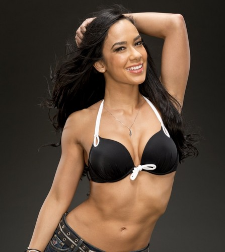 WWE Divas achtergrond with a bikini entitled The Divas of Summer: AJ Lee