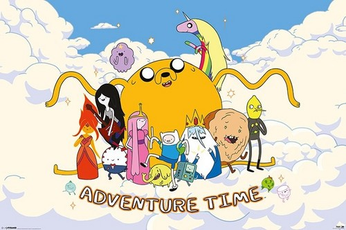 The Fun will Never End in Adventure Time! #2 (in the awan Kingdom)