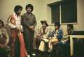 The Jackson 5 And Joe Jackson Backstage  - michael-jackson photo