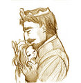The King and Rapunzel - disney fan art