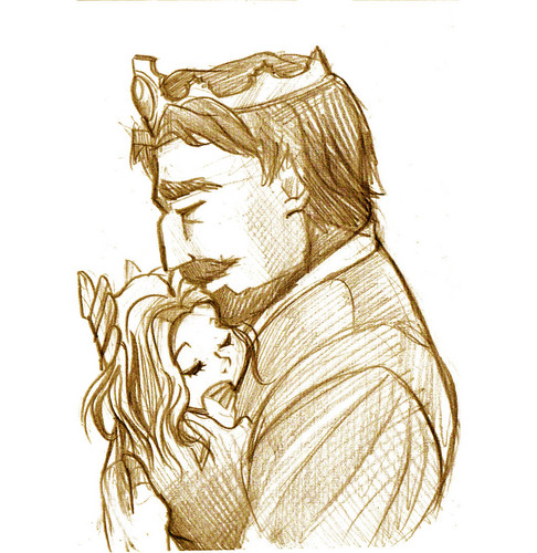 The King and Rapunzel