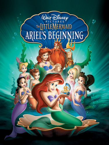 Ariel achtergrond containing anime titled The Little Mermaid