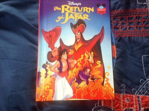 Disney Hintergrund possibly with Anime called The Return of Jafar Book (1995)