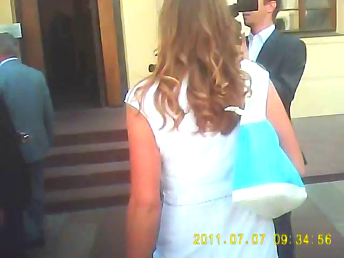 The man who touched Obama and Petra Kvitova 2