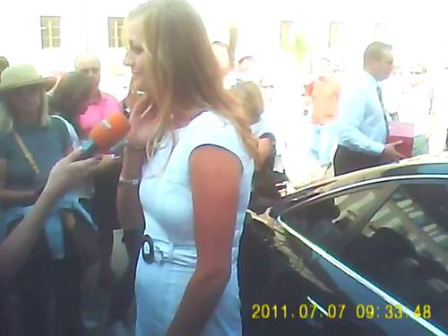 The man who touched Obama and Petra Kvitova
