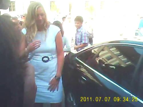 The man who touched Obama and Petra Kvitova..