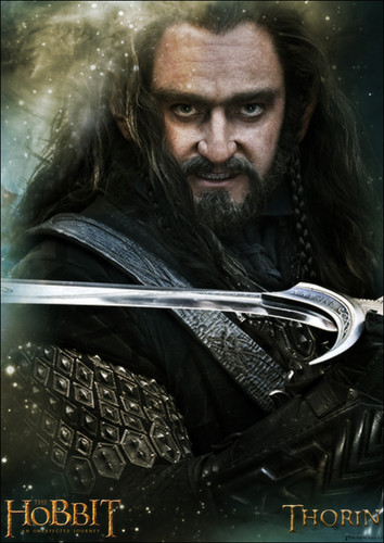 द हॉबिट वॉलपेपर probably with a sign entitled Thorin Oakenshield Poster fan-made