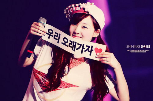 Tiffany in SNSD concert (2013)