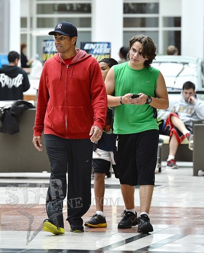 Tito Jr (TJ) and his cousin Prince Jackson 2013 ♥♥