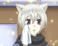 Tomoe's innocent face
