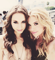 Troian and Ashley - pretty-little-liars-tv-show fan art