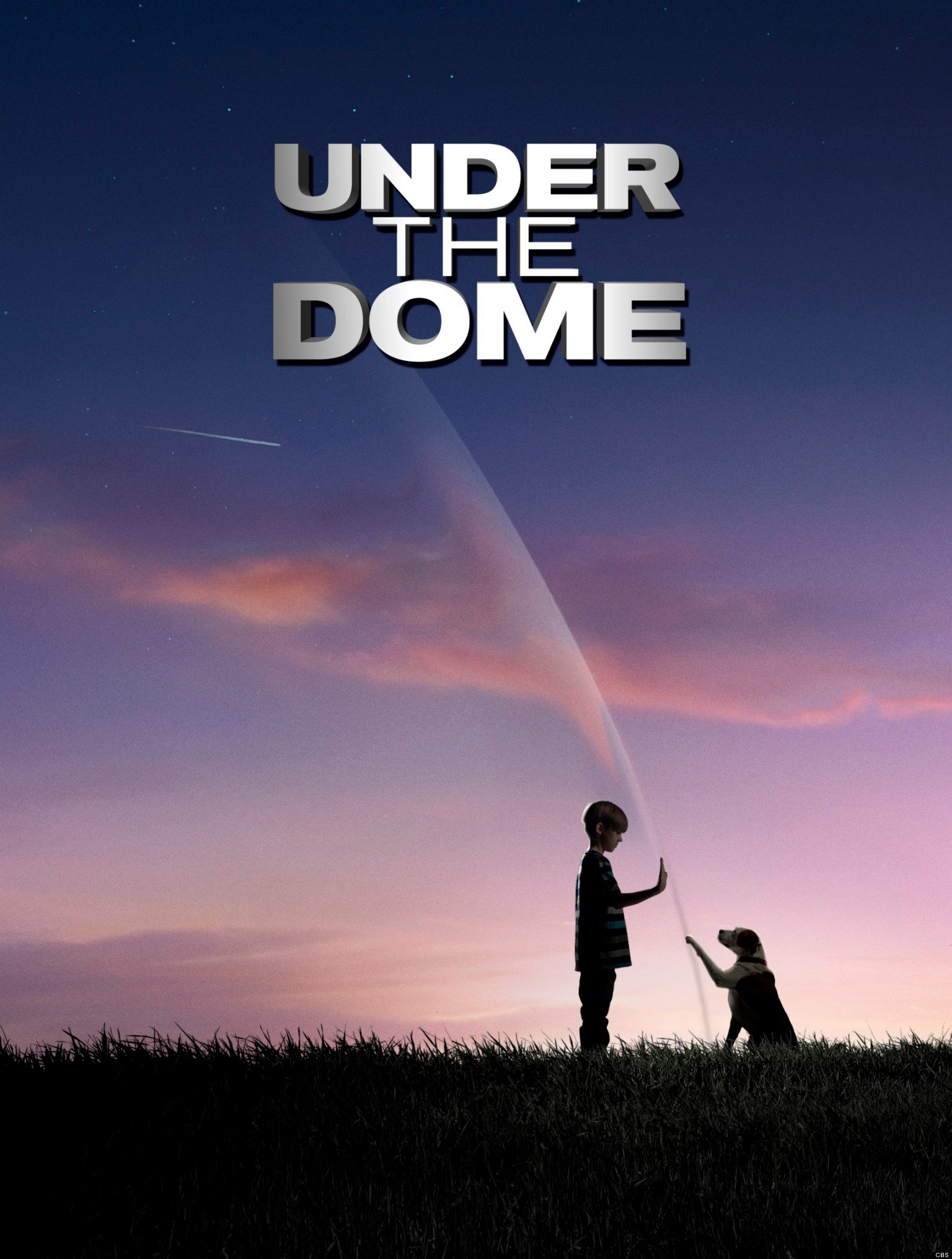 Under The Dome - CBS Poster