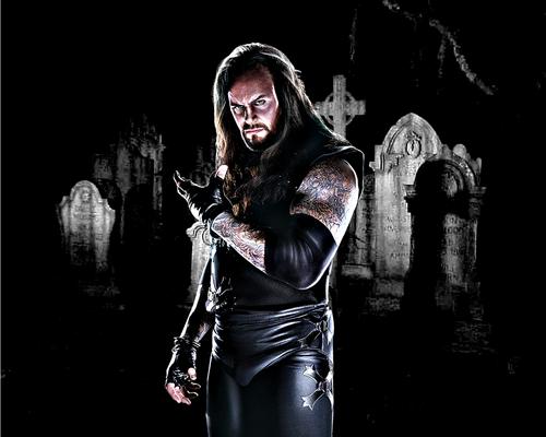 Undertaker achtergrond titled Undertaker