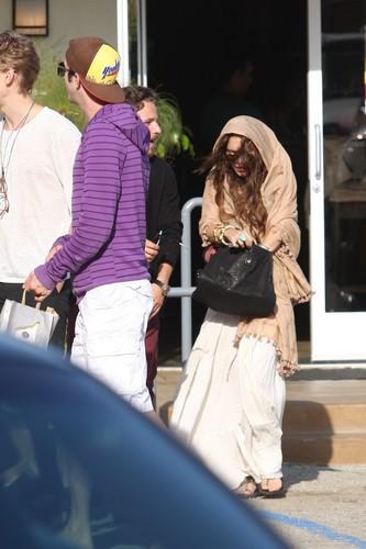 Vanessa out in Malibu