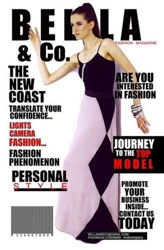 Victoria on the cover of Bella Magazine
