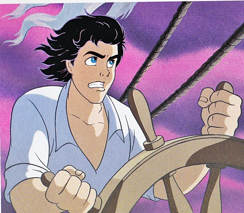 Walt Disney Book Images - Prince Eric