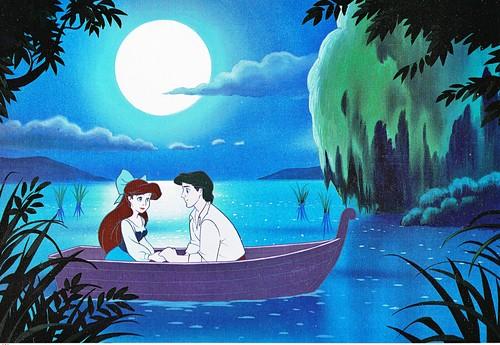Walt ディズニー Book 画像 - Princess Ariel & Prince Eric