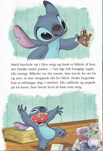 Walt Disney Book Images - Stitch