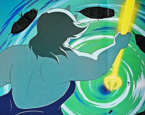 Walt डिज़्नी Book तस्वीरें - Ursula, Prince Eric & Princess Ariel