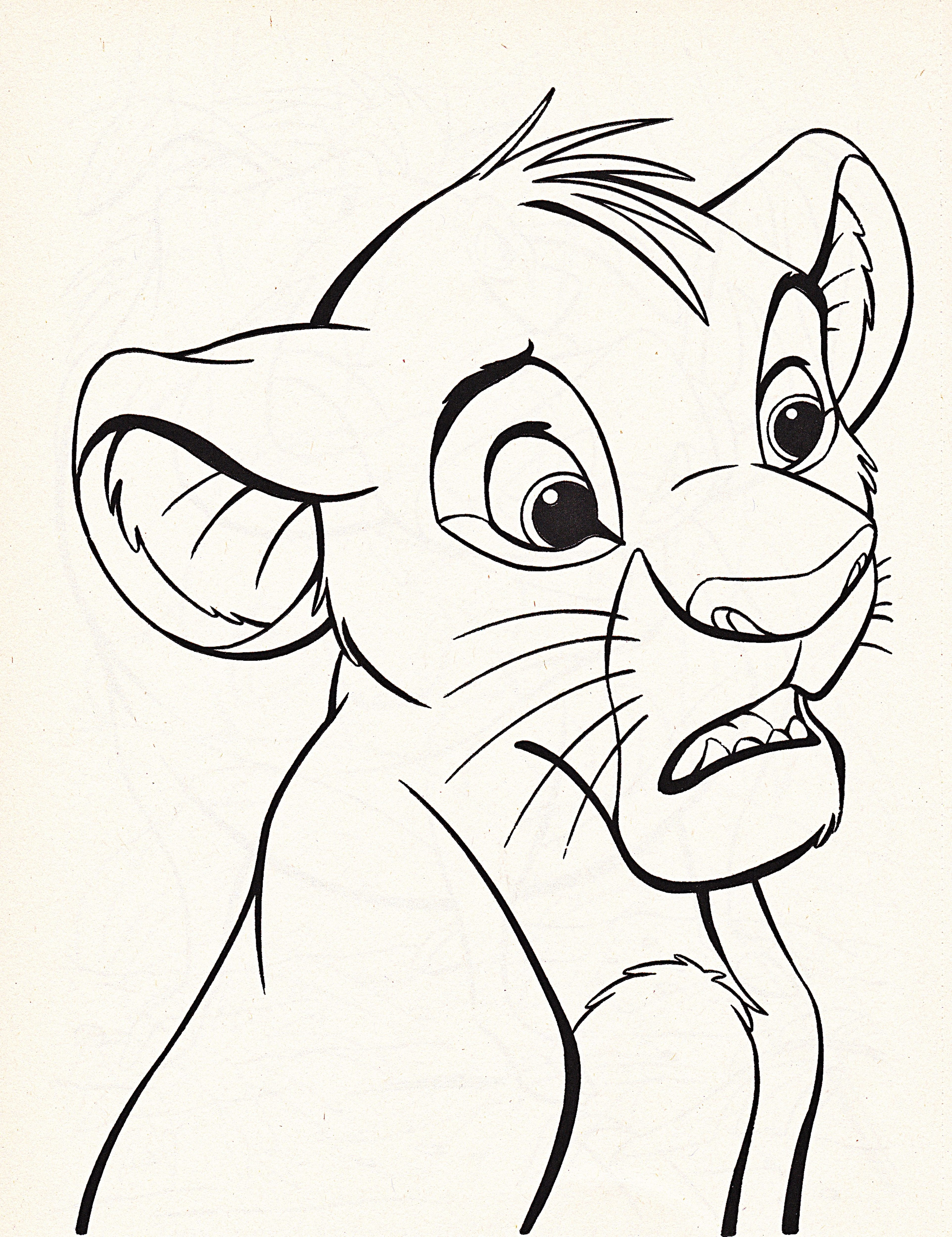 disney character coloring pages - photo#32