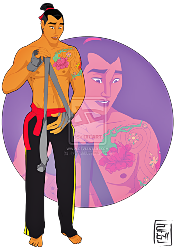 Walt Disney Fan Art - Captain Li Shang