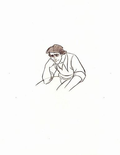 Walt disney Sketches - Prince Eric