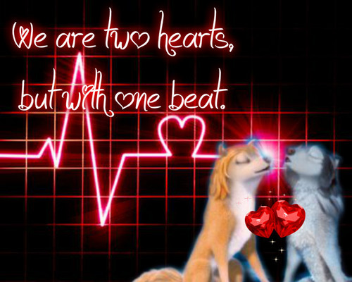 We are two Hearts, but with one Beat.