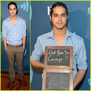What Gives wewe Courage? at the Glaad Awards