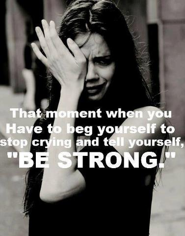 When You Stop Crying...