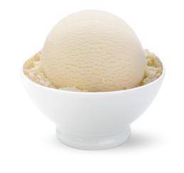 White Vanilla Eis
