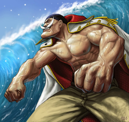 One Piece Wallpaper Entitled Whitebeard