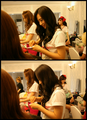 YoonYul backstage <33~