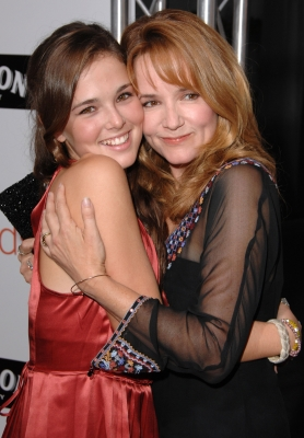Zoey Deutch and family 2008