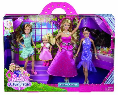 Barbie her sisters in a kuda, kuda kecil tale