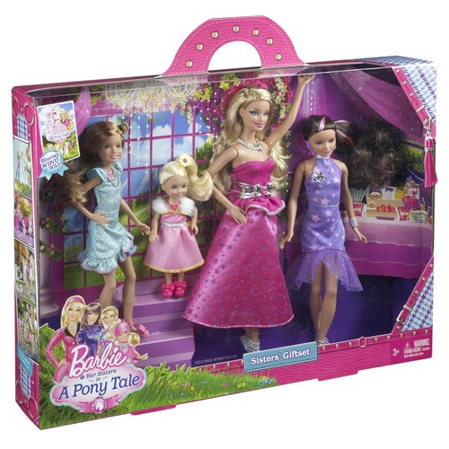 barbie mariposa the fairy princess and barbie her sisters in a pony tale