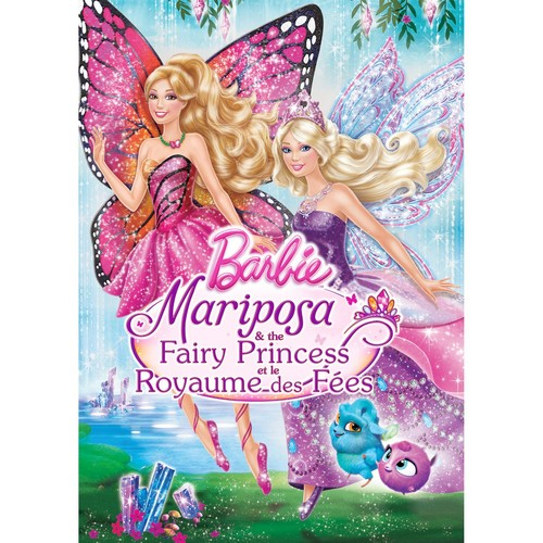 barbie mariposa the fairy princess dvd and blu-ray