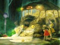 cat bus - my-neighbor-totoro photo