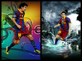 egfw - lionel-andres-messi fan art