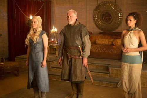 Daenerys Targaryen, Barristan Selmy & Missandei
