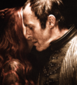 Stannis Baratheon & Melisandre - game-of-thrones fan art