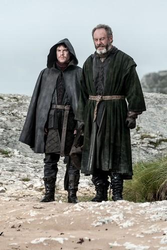 Davos Seaworth & Gendry