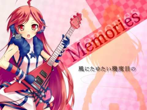 吉他 日本动漫 girl