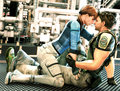 jill and chris - resident-evil photo