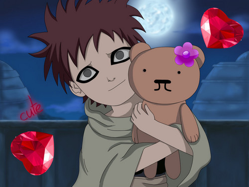 Gaara of Suna wallpaper possibly containing anime called kawaii