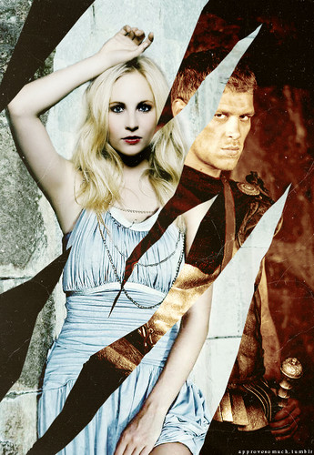 klaus as ARES | caroline as ATHENA (TVD Greek Gods AU)