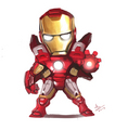 little iron man - robert-downey-jr photo
