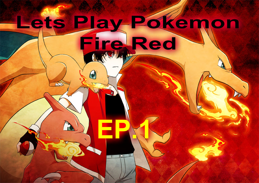pokemon fire red ep 1  roxas Fan Art 34759104  Fanpop