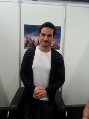 Colin O'Donoghue wallpaper possibly with an outerwear titled aleatório