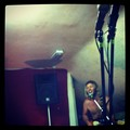 rehearsing for a secret apresentação, show, gig with the durty stopouts